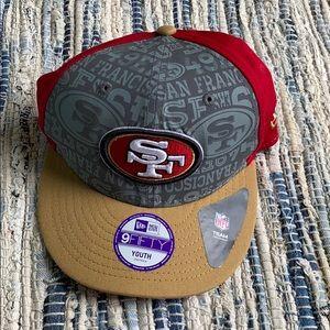 SF 49ers baseball cap